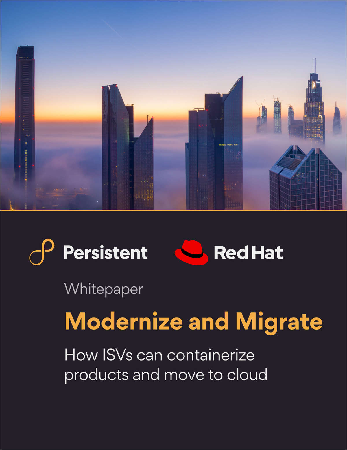 Modernize and Migrate: How ISVs Can Containerize Products and Move to Cloud