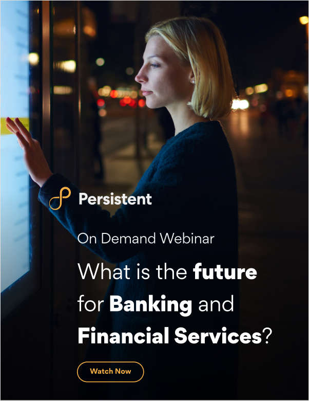 Webinar Recording: What is the future for Banking and Financial Services?