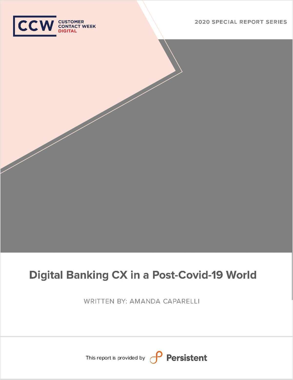 Digital Banking CX In a post covid-19 world