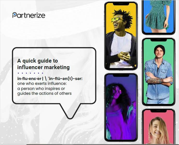 Quick Guide to Influencer Marketing