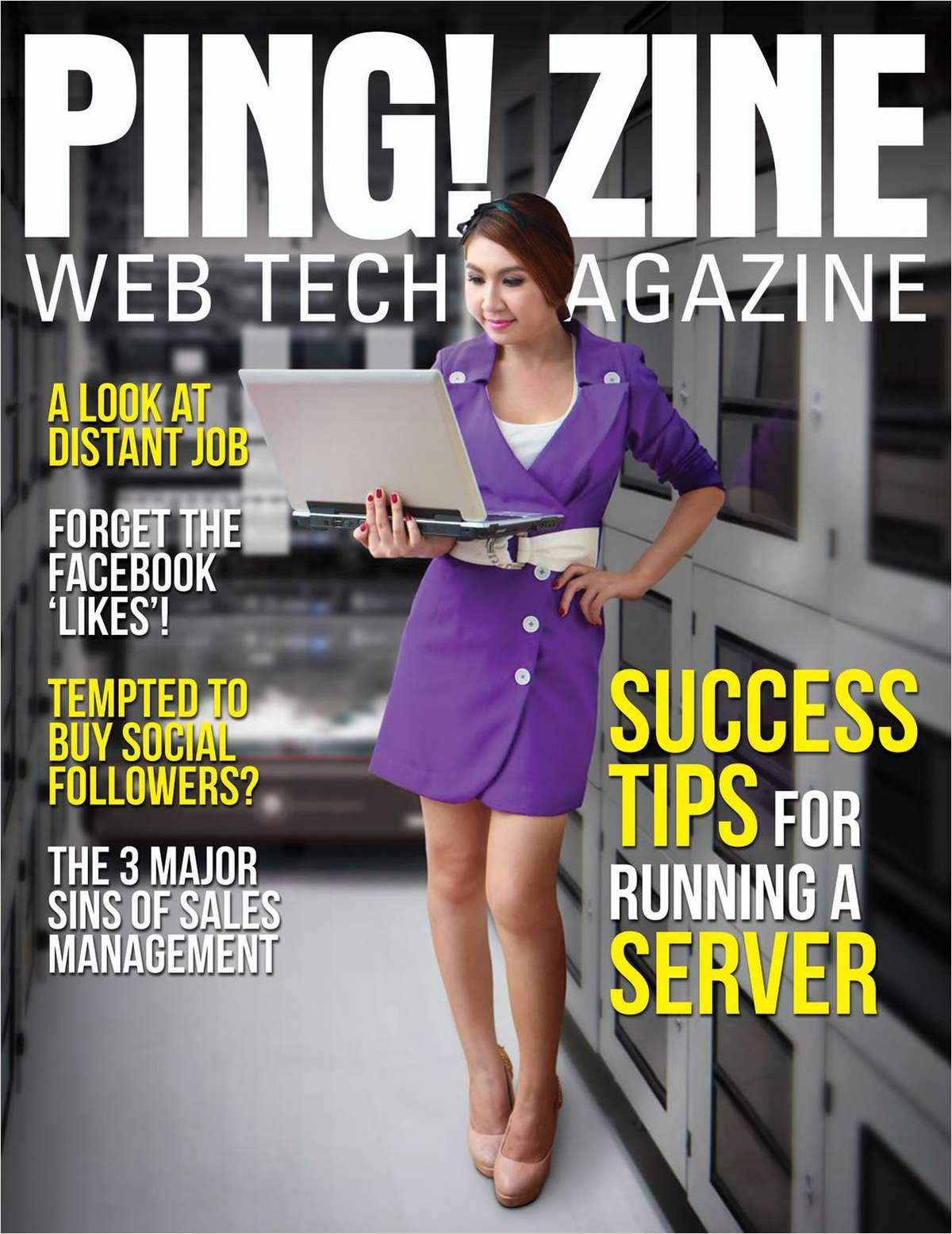 Ping! Zine -- Web Tech Magazine, Issue 71: Success Tips for Running a Server