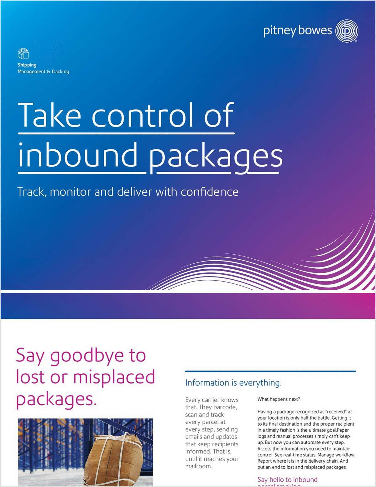 Take Control of Your Inbound Packages
