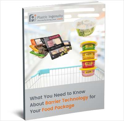 Barrier Technology for Food Packaging