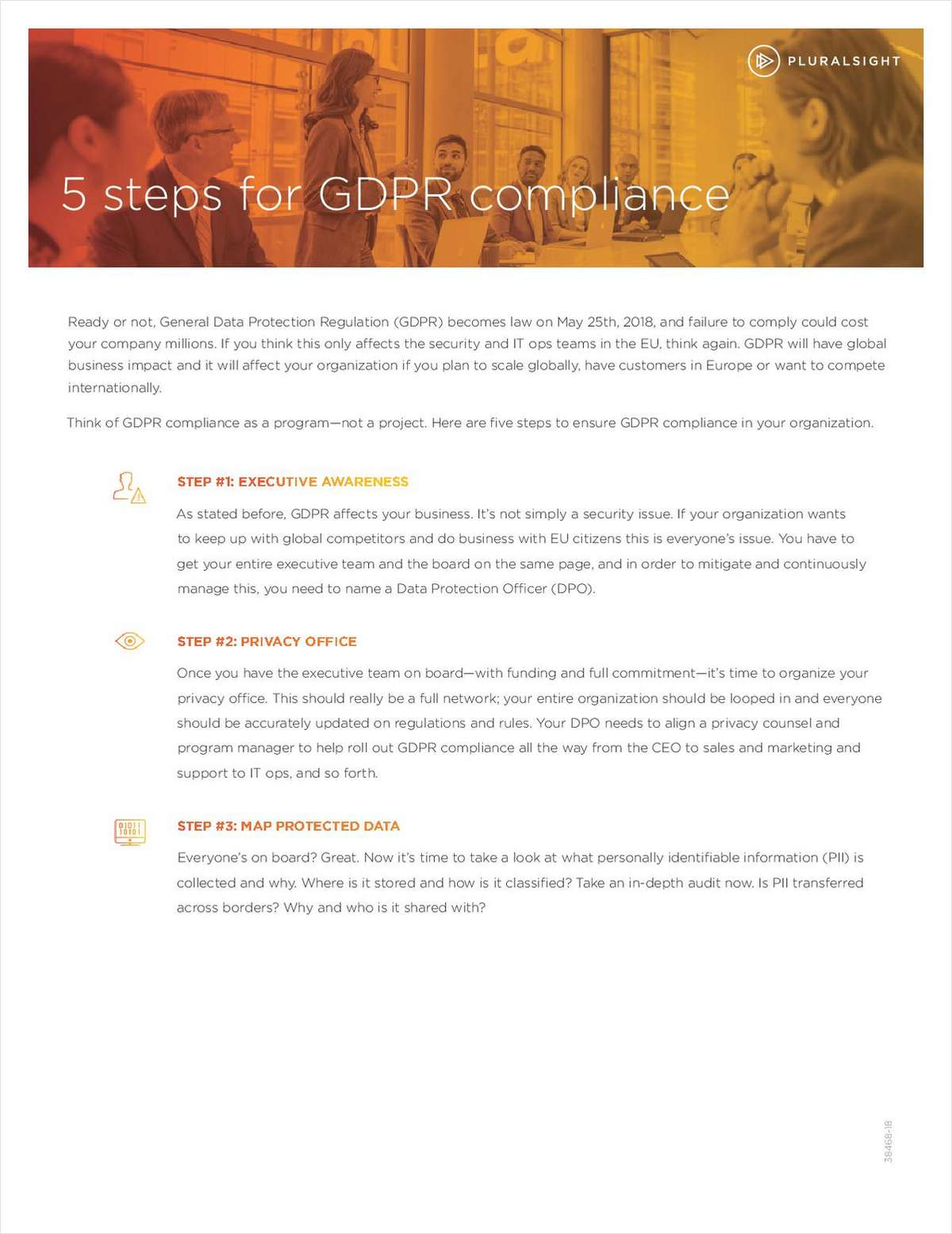 5 Steps for GDPR Compliance