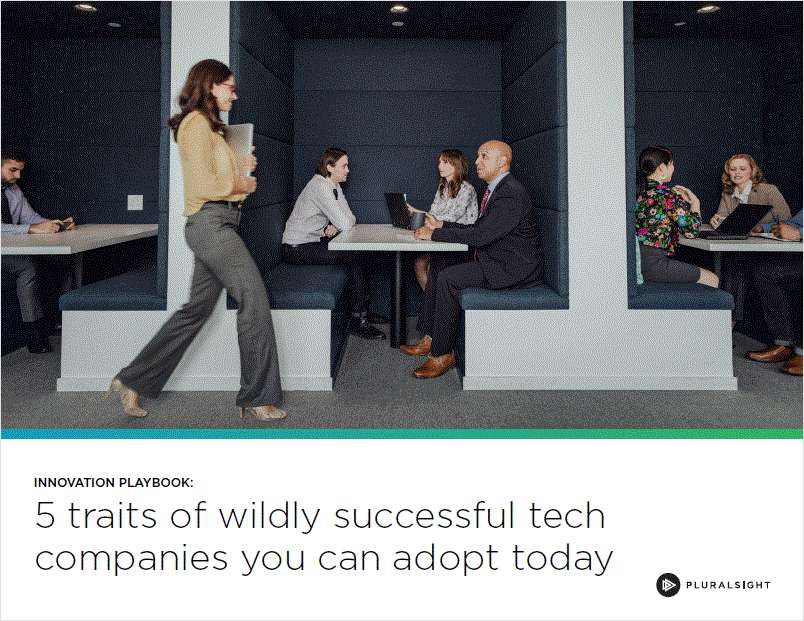 Innovation Playbook: Five Traits of Wildly Successful Tech Companies You Can Adopt Today