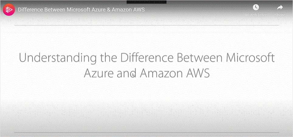 How to Understand the Difference Between Microsoft Azure and Amazon AWS