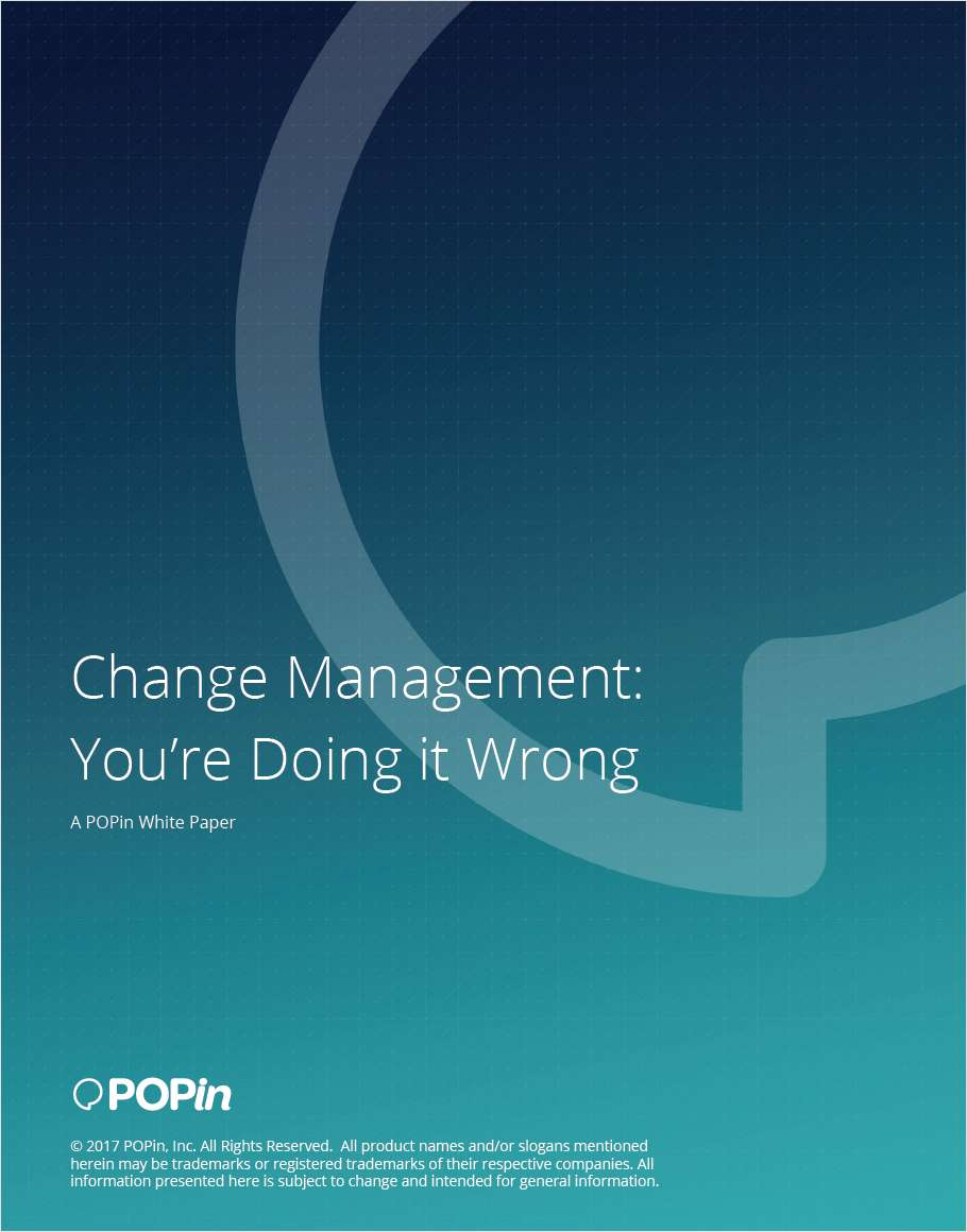 Change Management for Your Organization