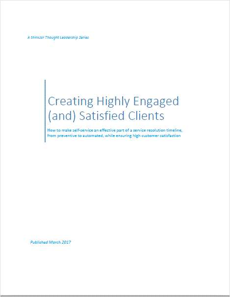 Creating Highly Engaged (and) Satisfied Clients
