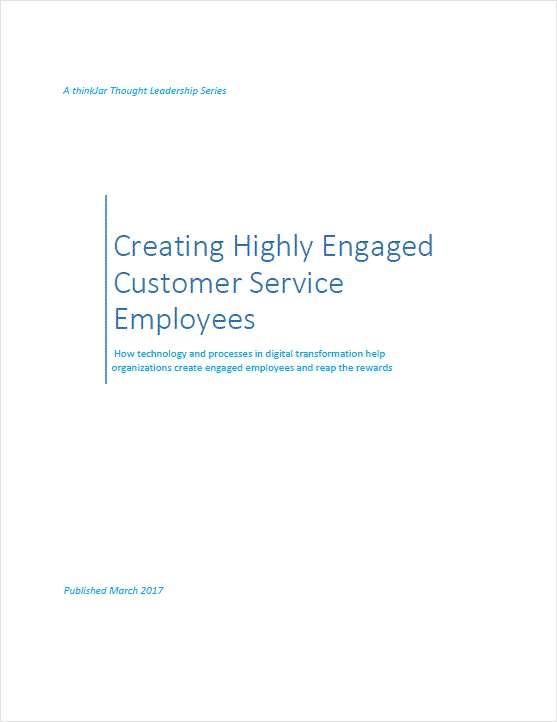 Creating Highly Engaged Customer Service Employees