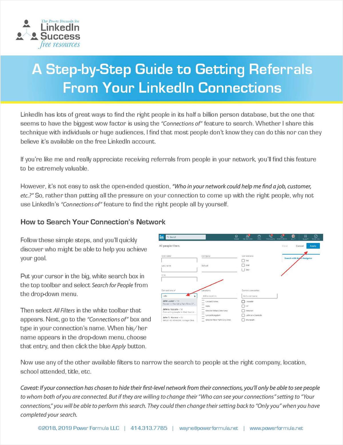 A Step-by-Step Guide to Getting Referrals From Your LinkedIn Connections