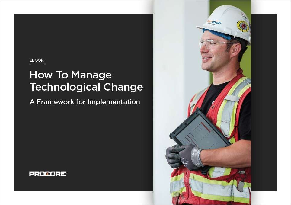 How to Manage Technological Change- A Framework for Implementation