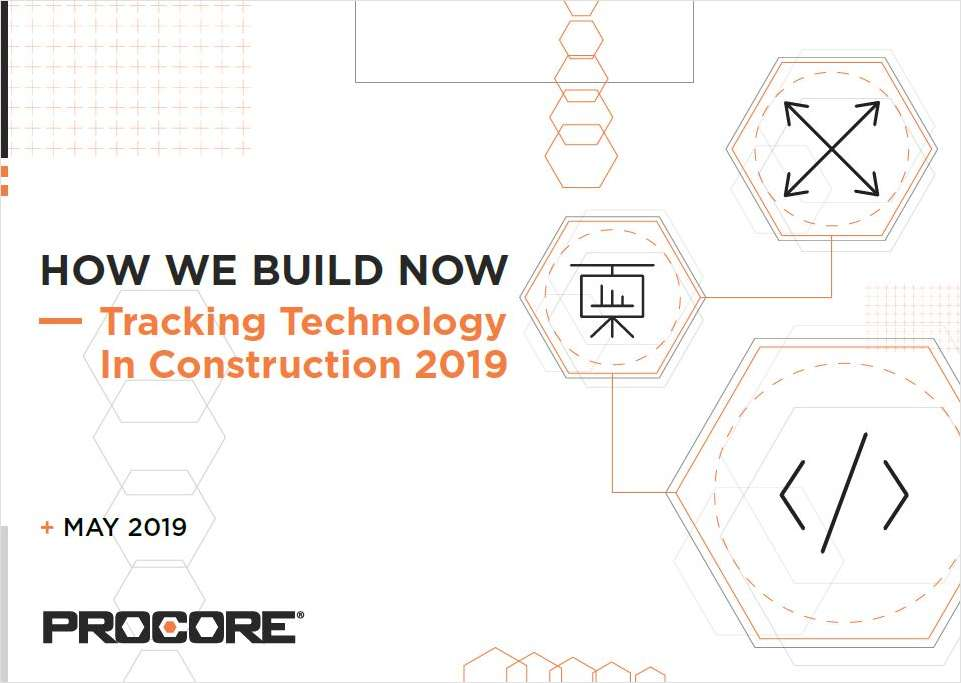How We Build Now - Tracking Technology in Construction 2019