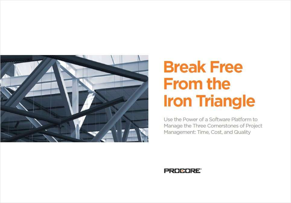 Break Free from the Iron Triangle
