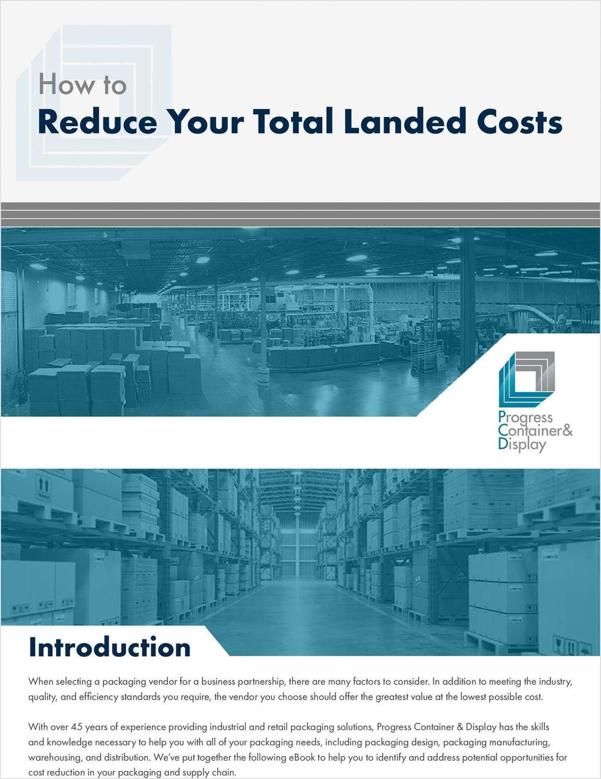 How to Reduce Your Total Landed Costs