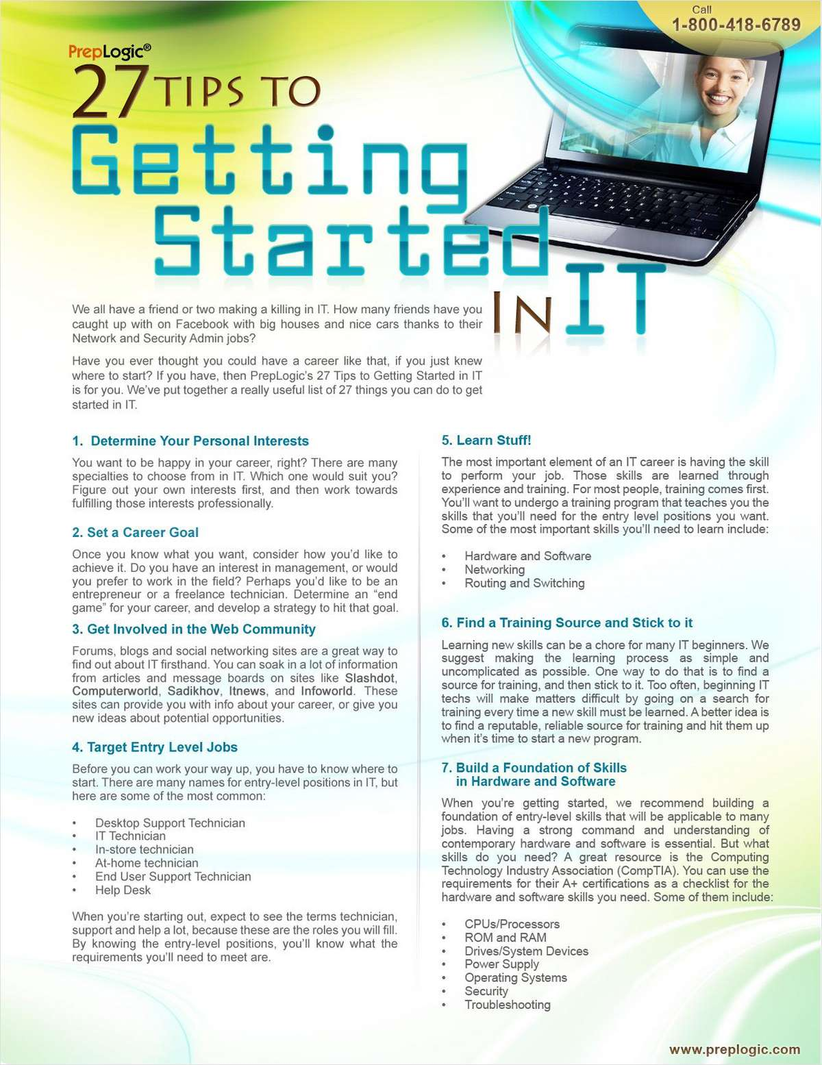 27 Tips for Getting Started in IT