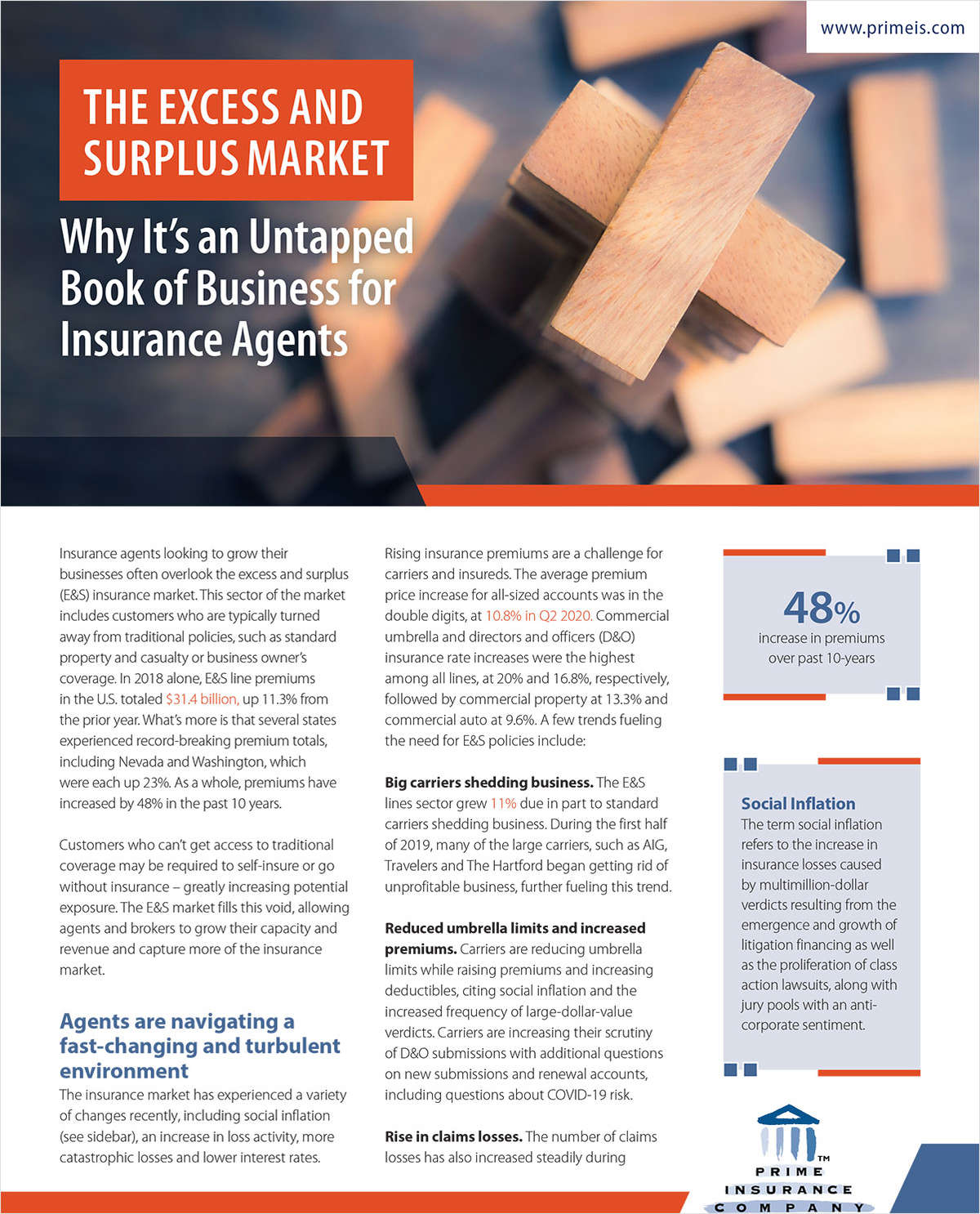 Grow Your Business Within the E&S Market