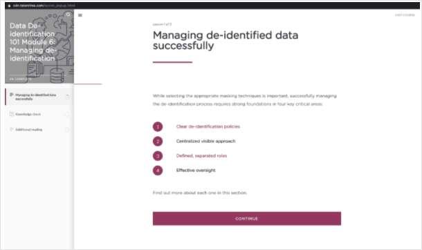 Data Privacy 101: Guide to De-Identification