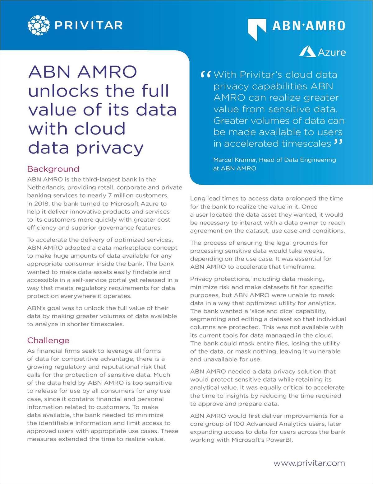 Case Study: ABN AMRO