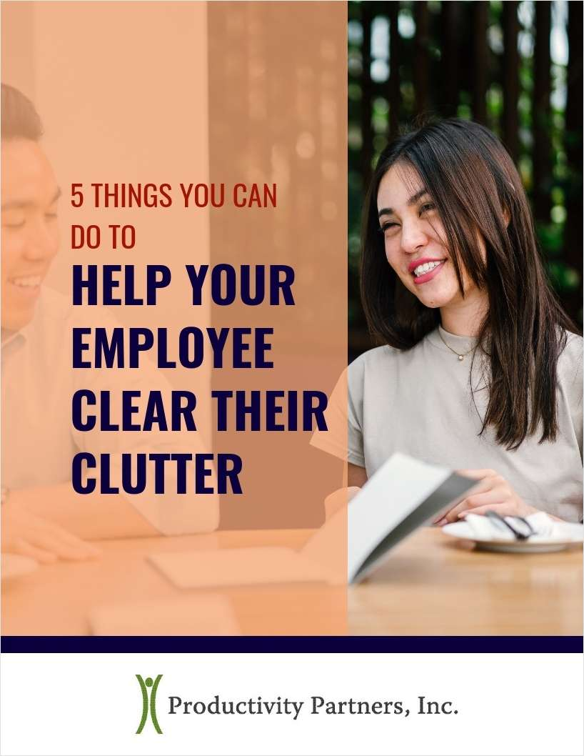 5 Things You Can Do to Help Your Employee Clear Their Clutter