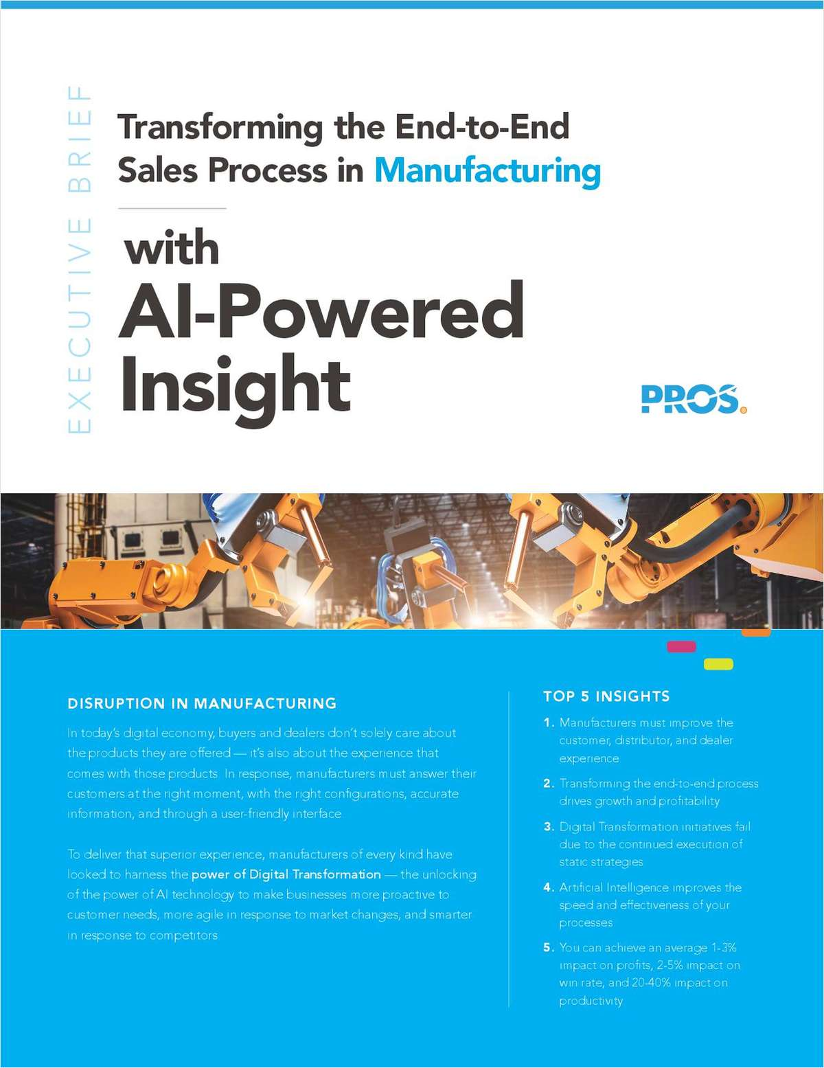 Transforming the End-to-End Sales Process in Manufacturing with AI-Powered Insight