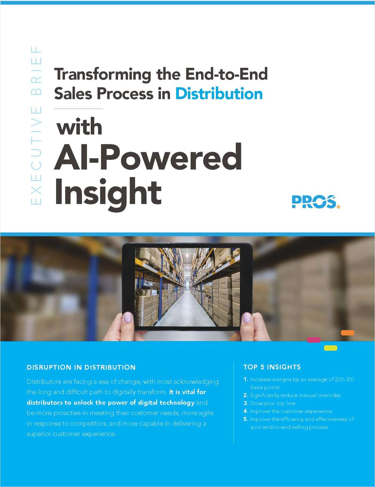 Transforming the End-to-End Sales Process in Distribution with AI-Powered Insight