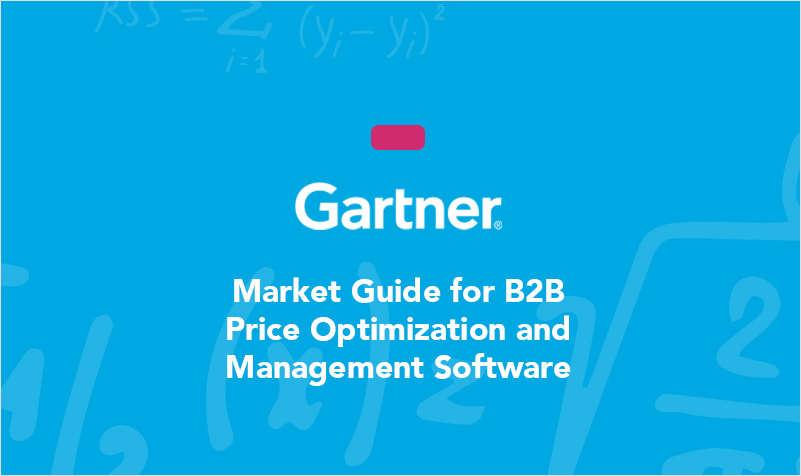 Gartner Market Guide for B2B Price Optimization and Management Software