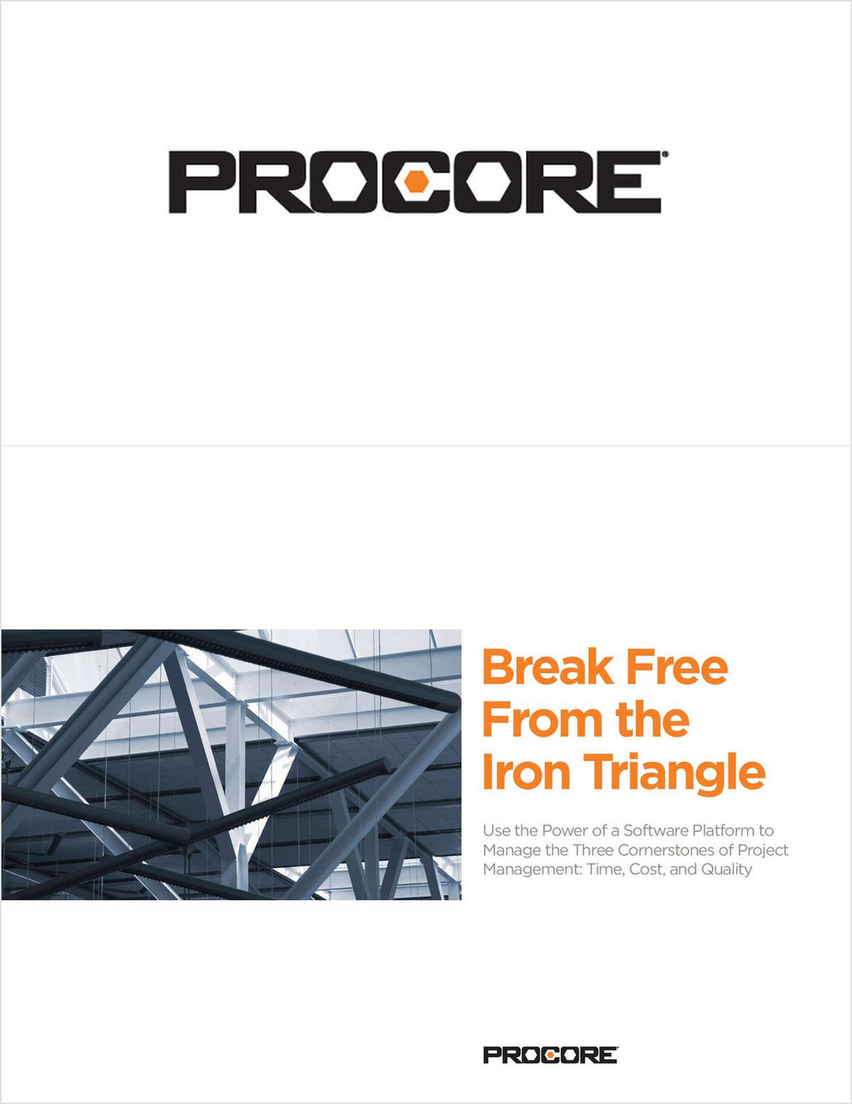How Construction Professionals Can Break Free From the Iron Triangle