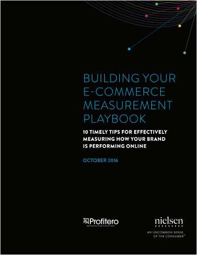 Building Your eCommerce Measurement Playbook