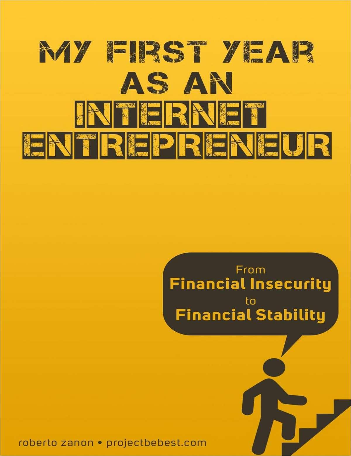 My First Year as an Internet Entrepreneur