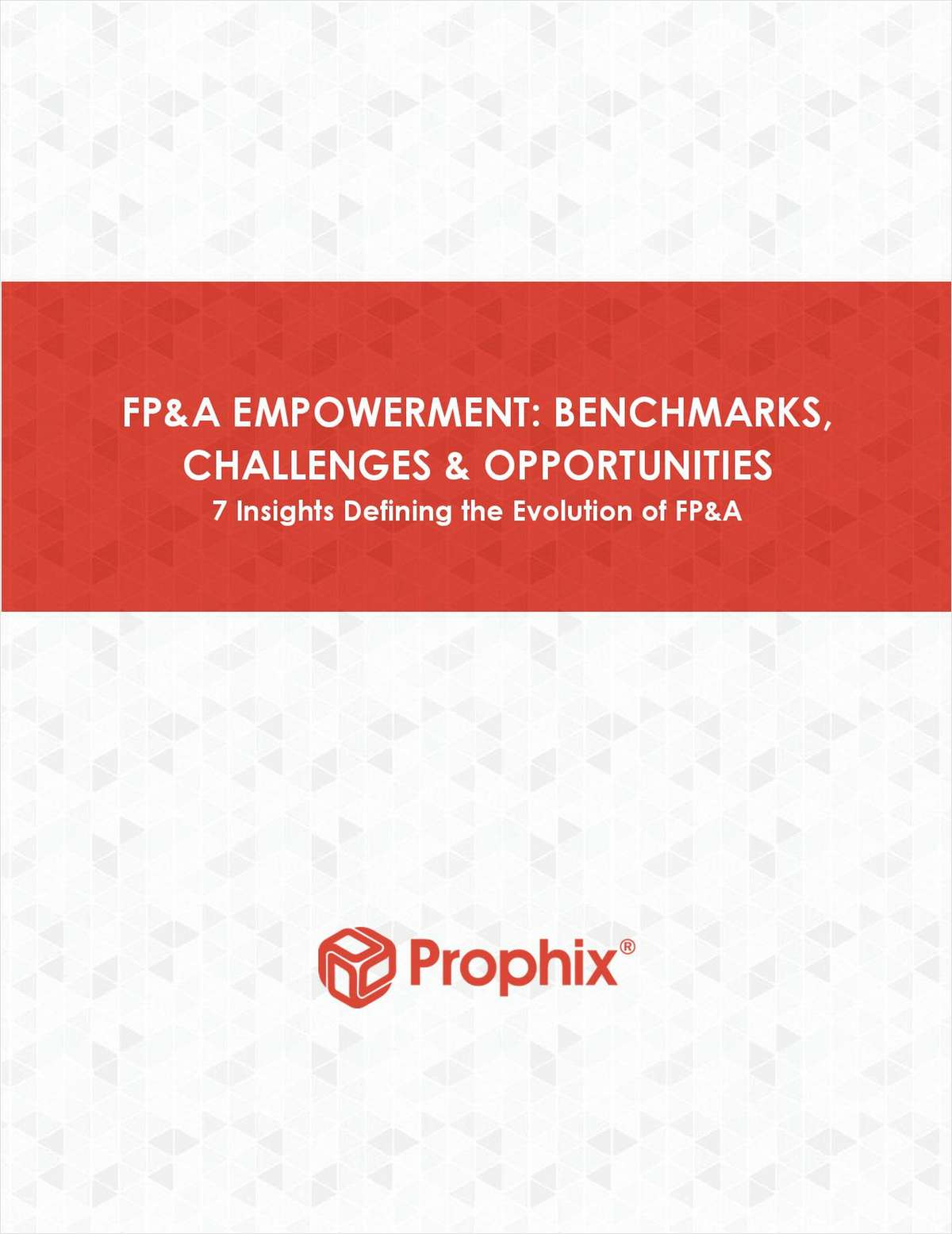 FP&A Empowerment: Benchmarks, Challenges & Opportunities