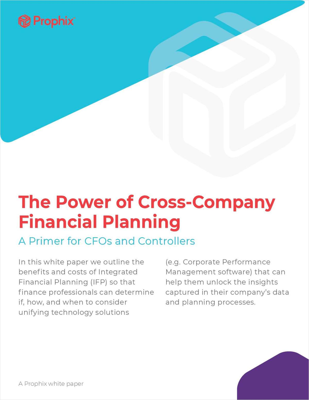 The Power of Cross-Company Financial Planning