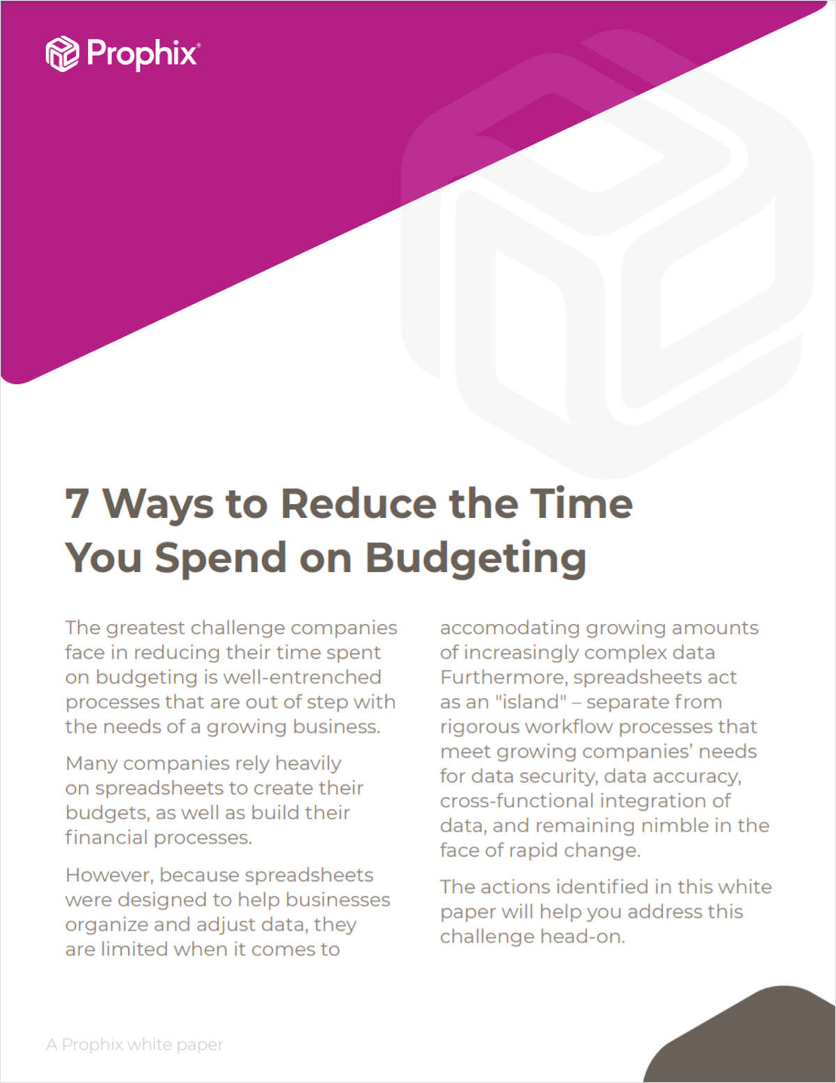 7 Tips to Save Time and Resources on Your Budgeting Process