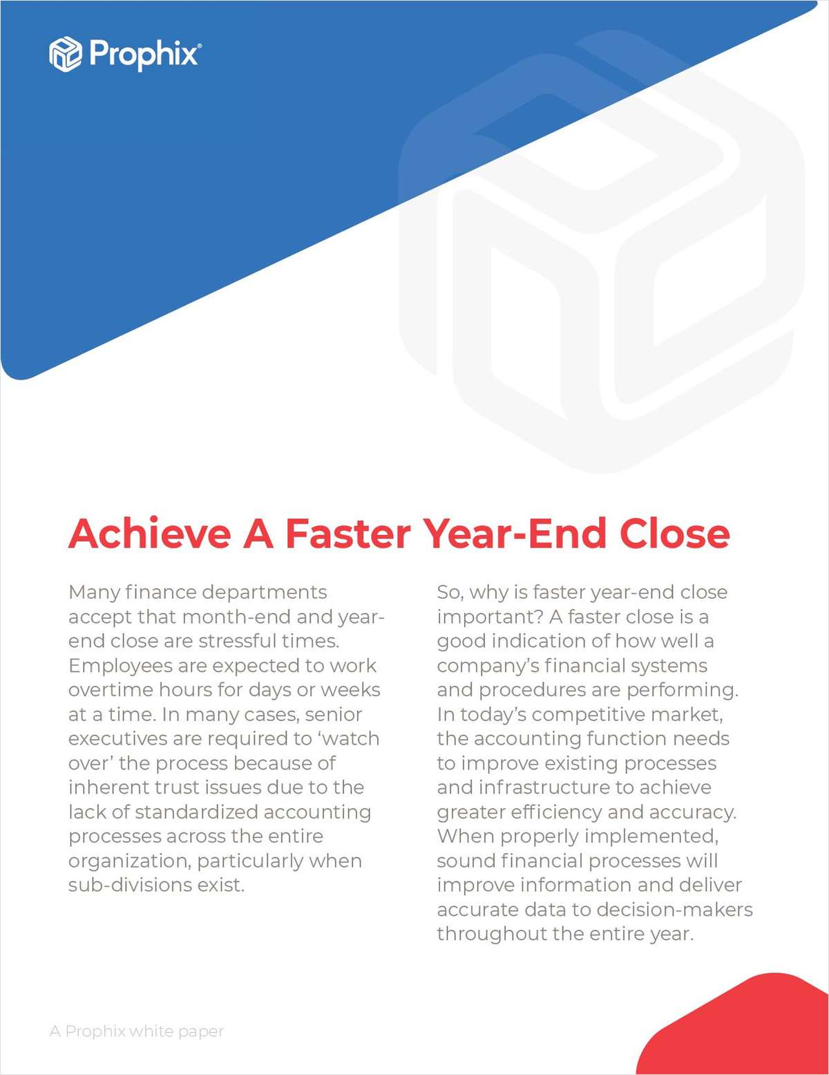Achieve A Faster Year-End Close in Sage Intacct