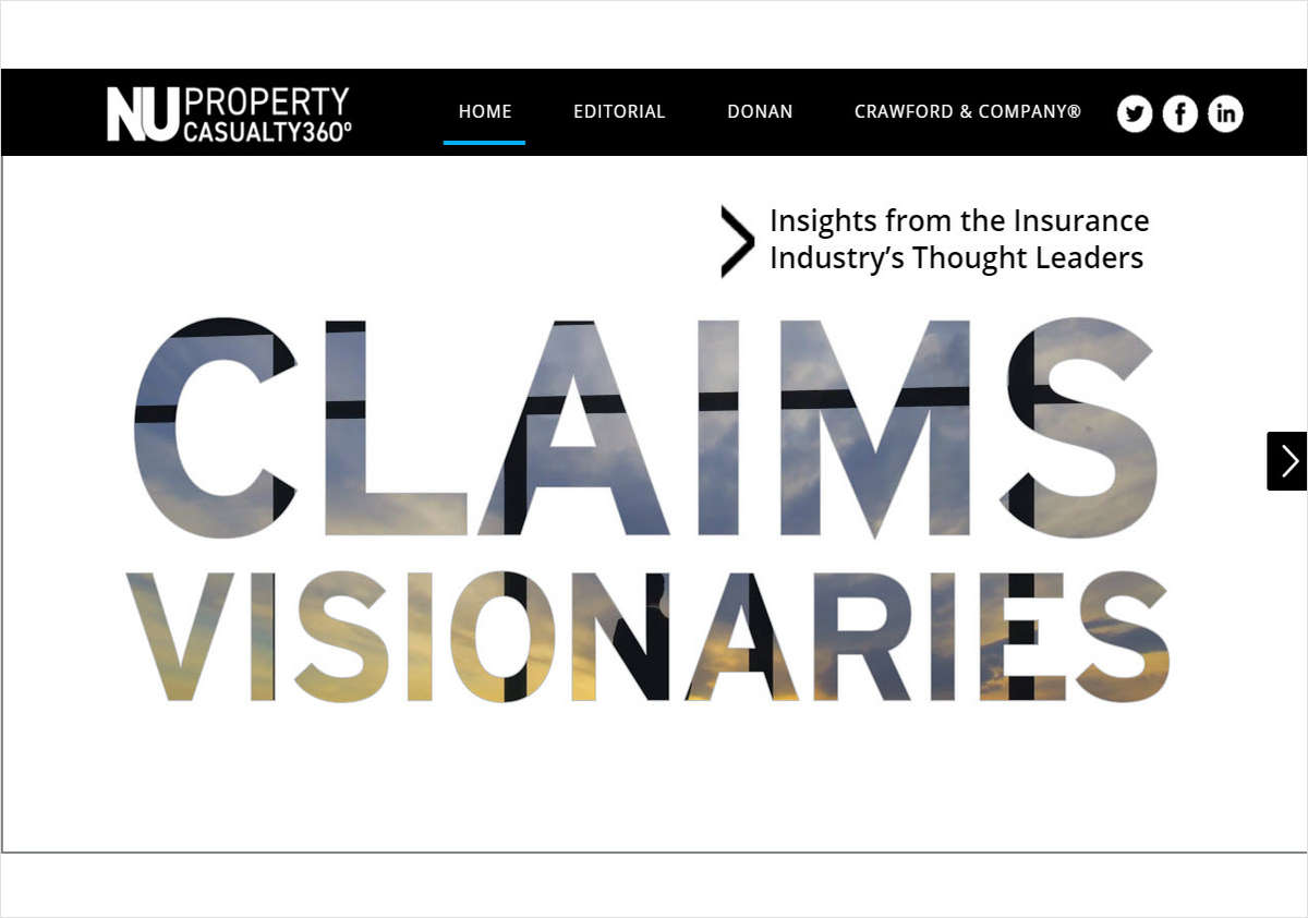 Claims Visionaries: Seize Opportunity and Mitigate Risk in an Evolving Marketplace