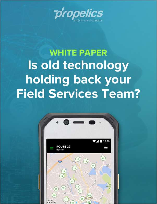 Is Old Technology Holding Back Your Field Services Team?