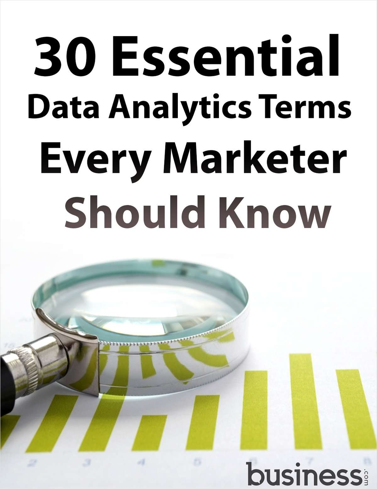 30 Essential Data Analytics Terms Every Marketer Should Know