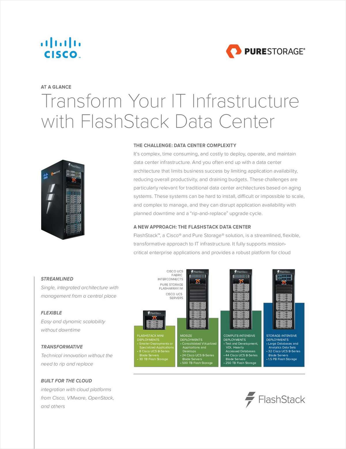 Transform Your IT Infrastructure with FlashStack Data Center