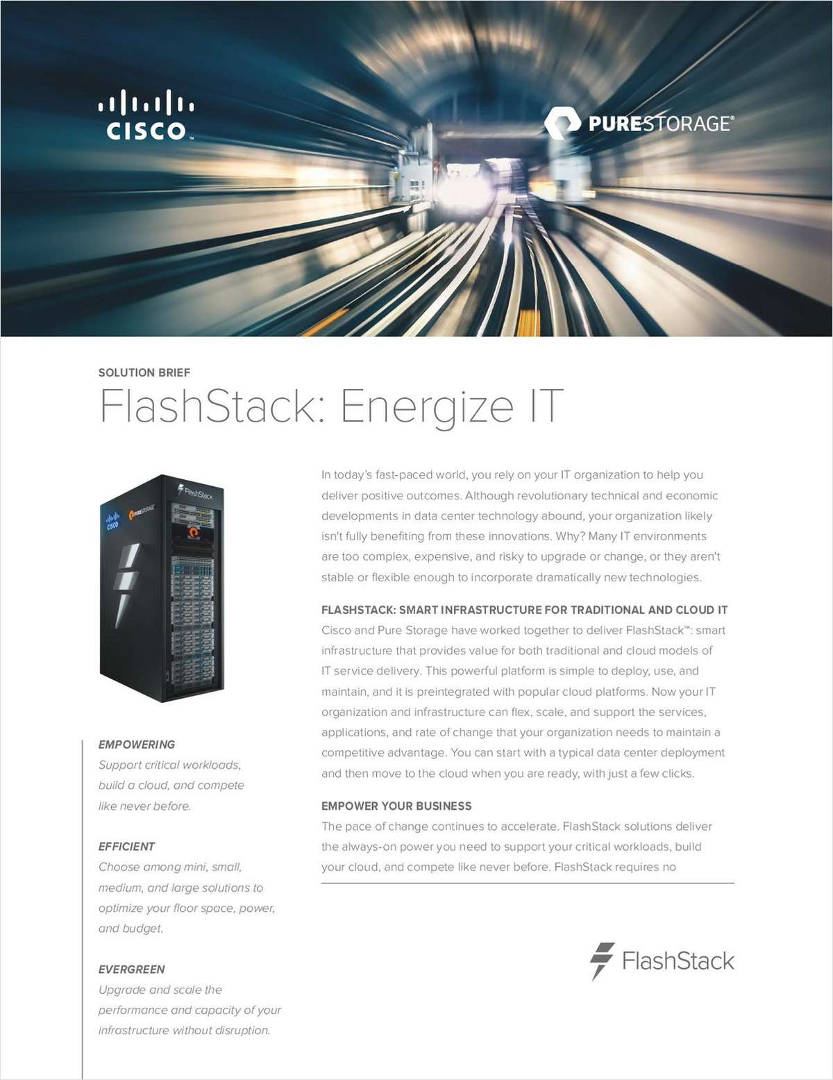 FlashStack: Energize IT
