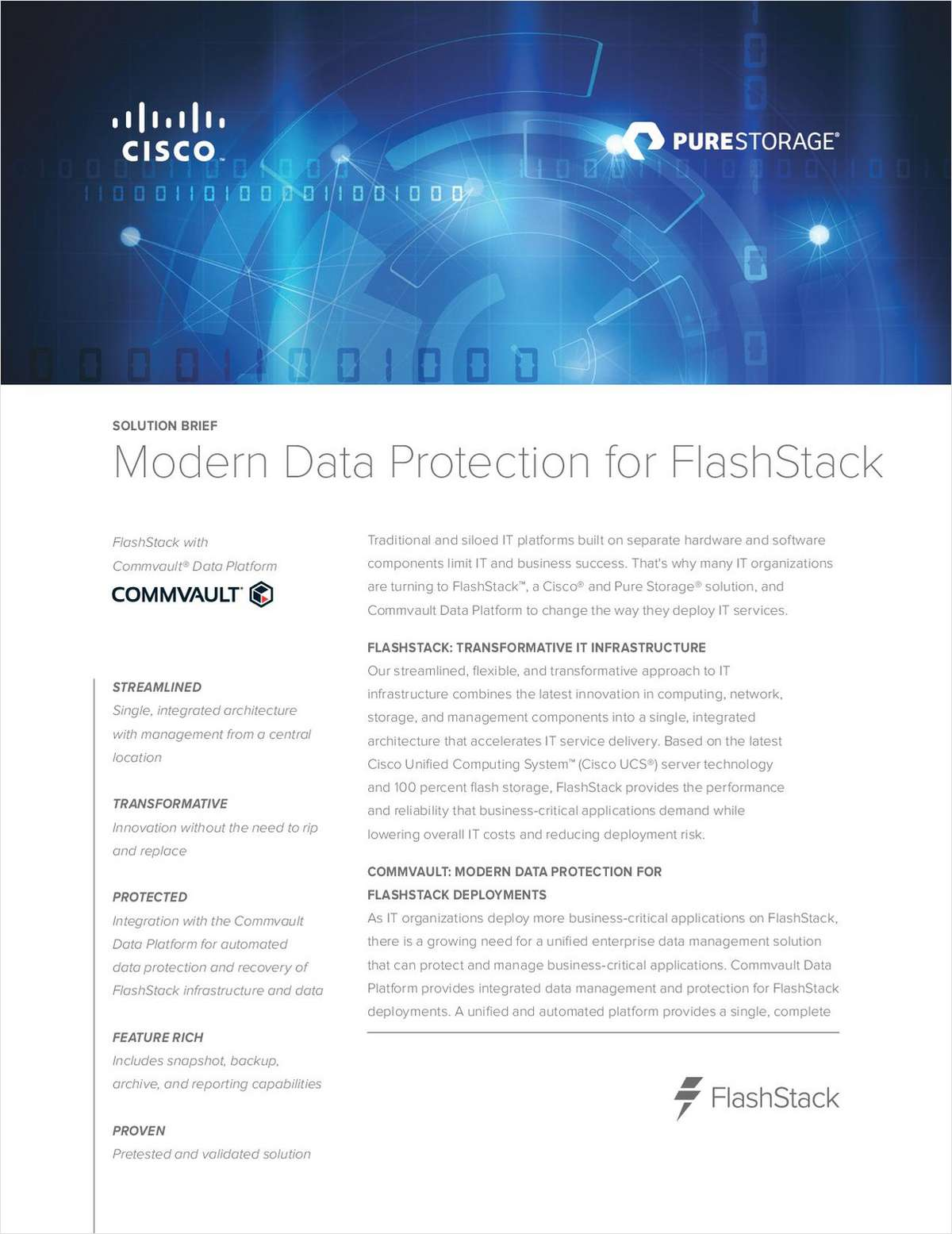 Modern Data Protection for FlashStack