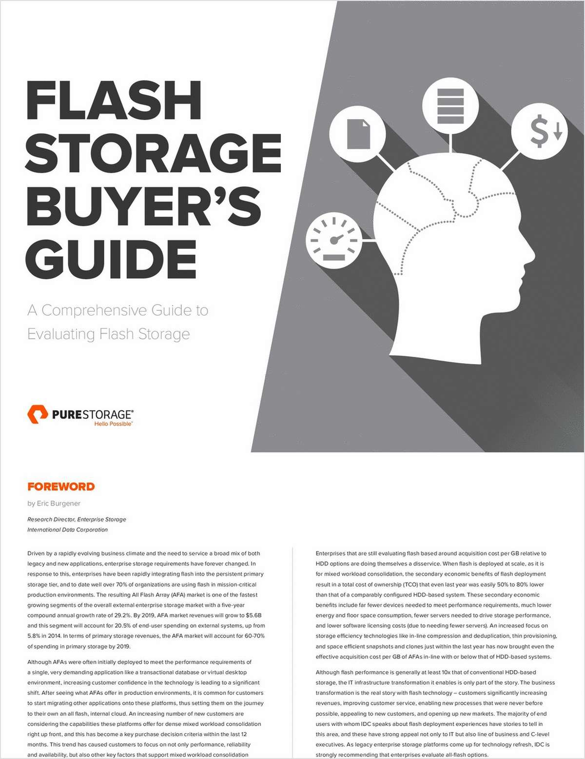 Everything You Need to Know to Evaluate Flash Storage