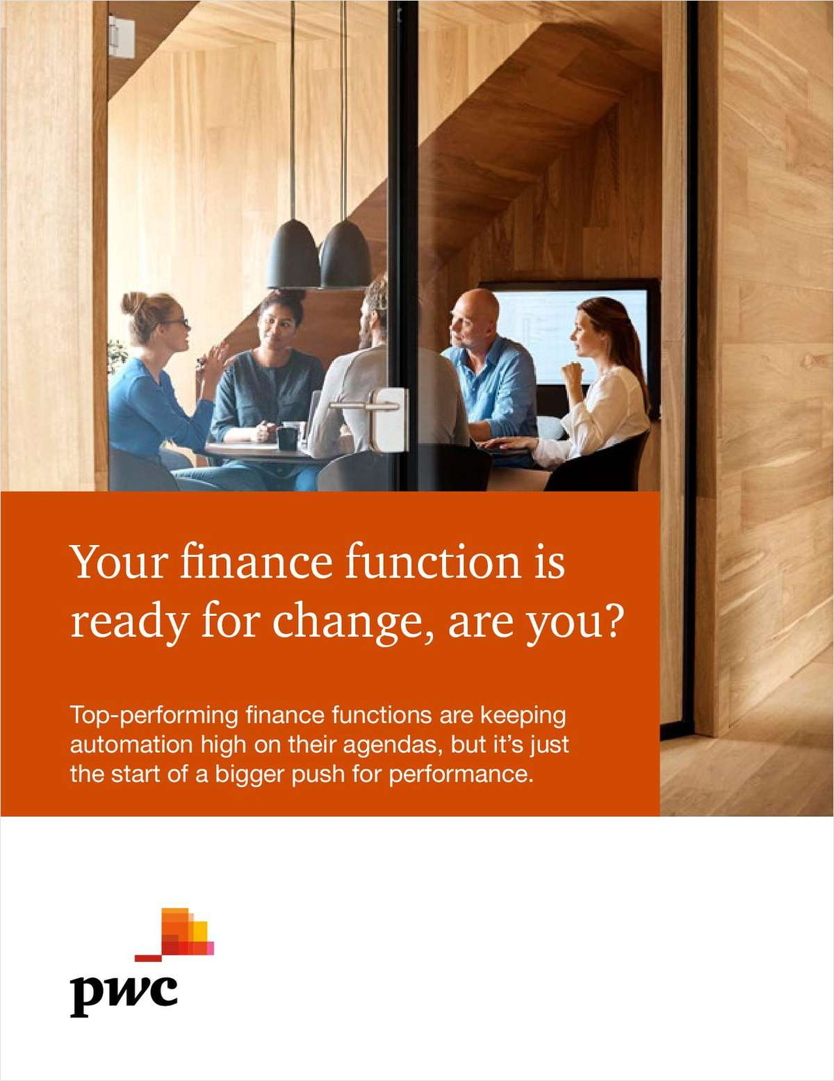Your Finance Function Is Ready for Change, Are You?