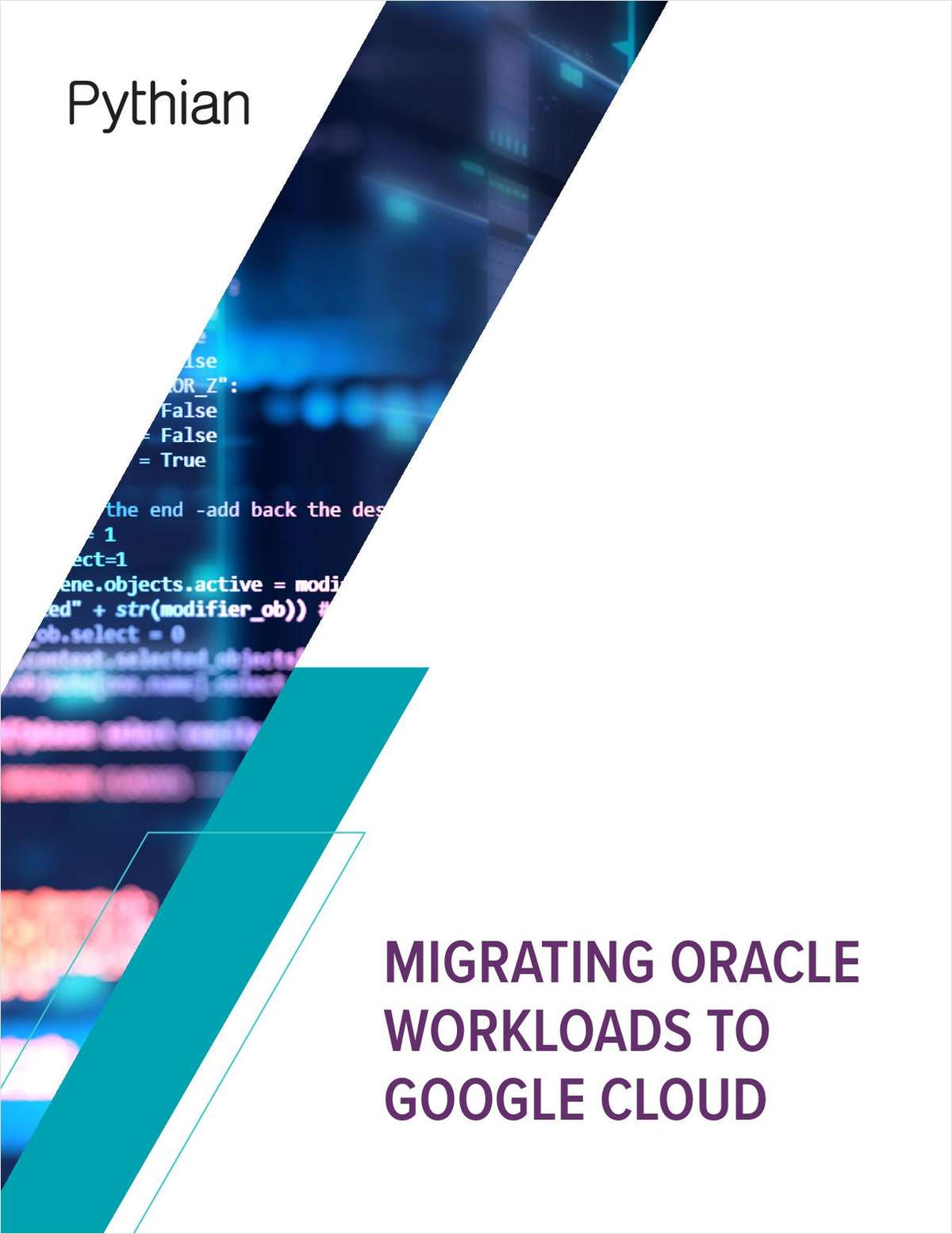 Migrating Oracle Workloads to Google Cloud