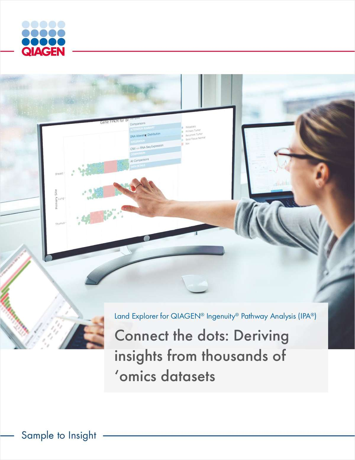 Connect the Dots: Deriving Insights from Thousands of 'Omics Datasets