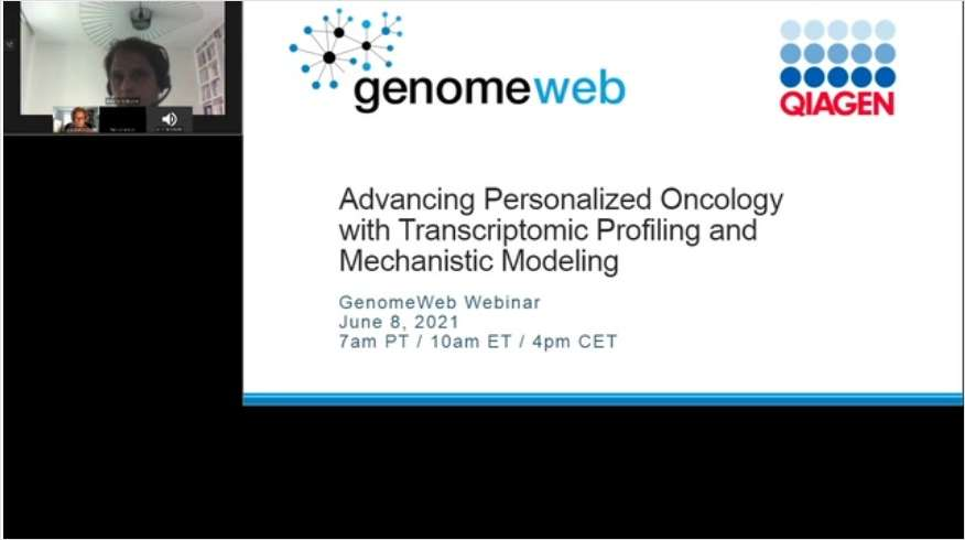 Advancing Personalized Oncology with Transcriptomic Profiling and Mechanistic Modeling