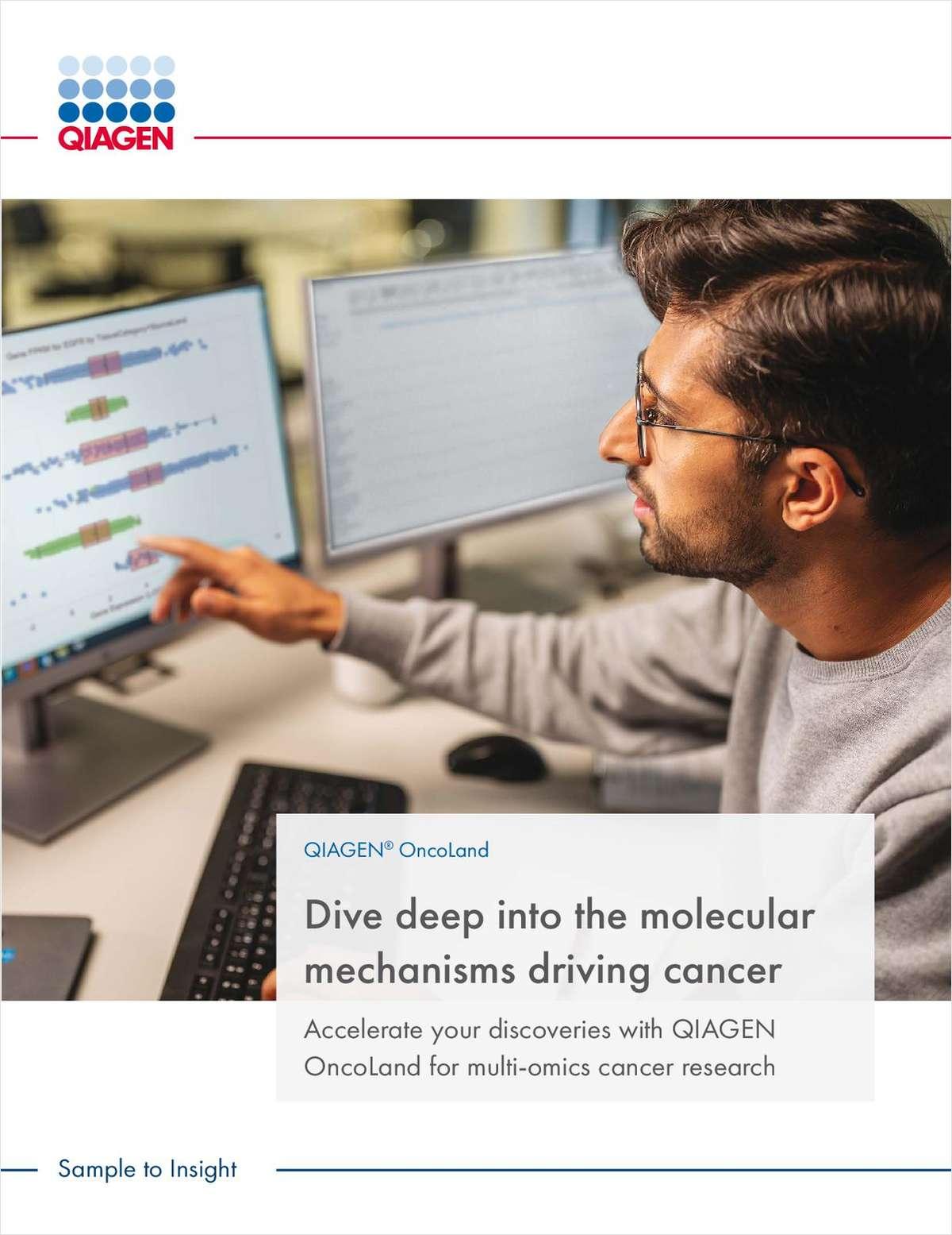 Dive Deep Into the Molecular Mechanisms Driving Cancer