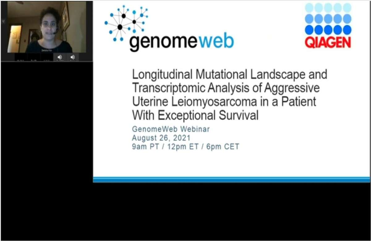 Longitudinal Mutational Landscape and Transcriptomic Analysis of Aggressive Uterine Leiomyosarcoma in a Patient With Exceptional Survival