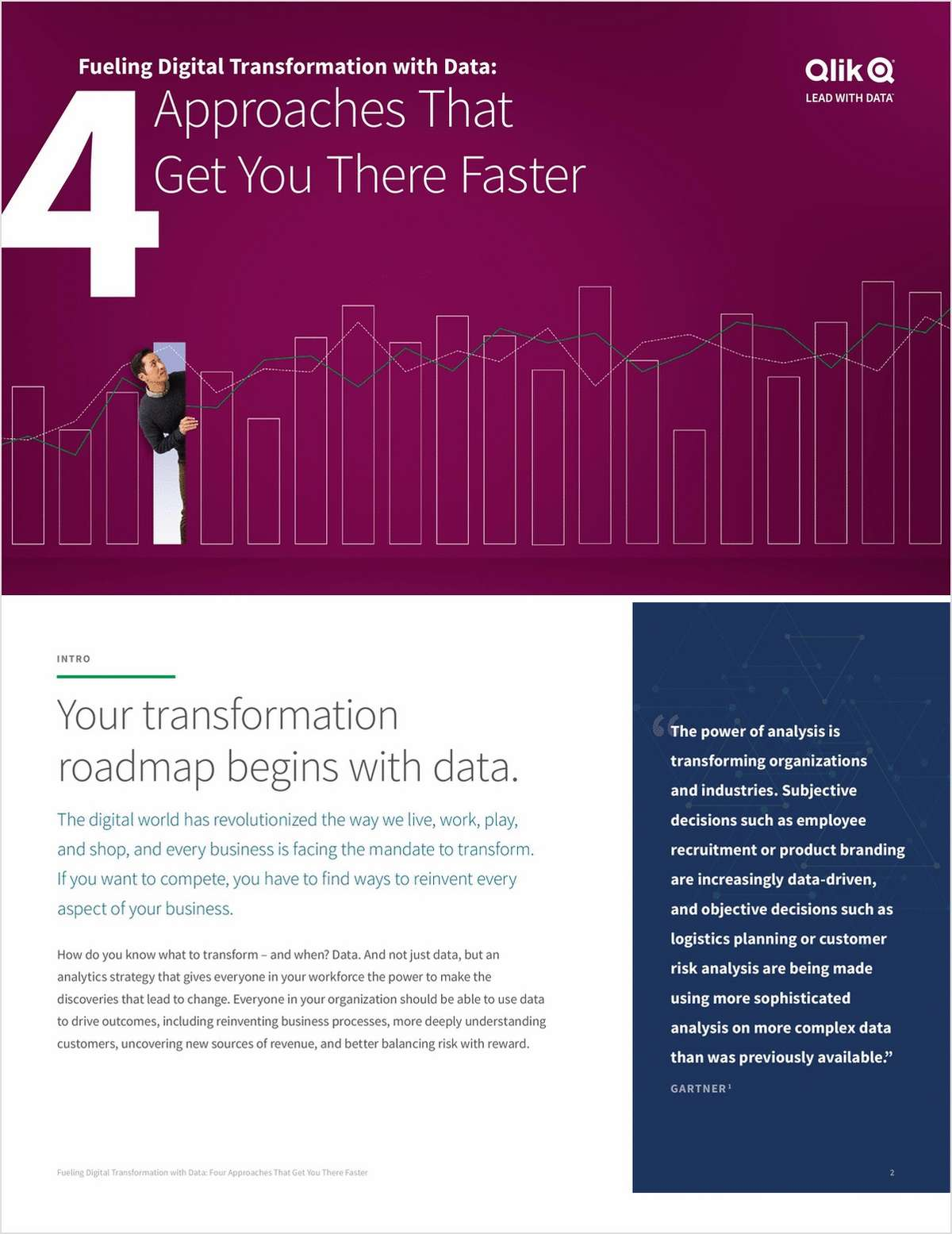 Fueling Digital Transformation with Data- Four Approaches that Get You There Faster