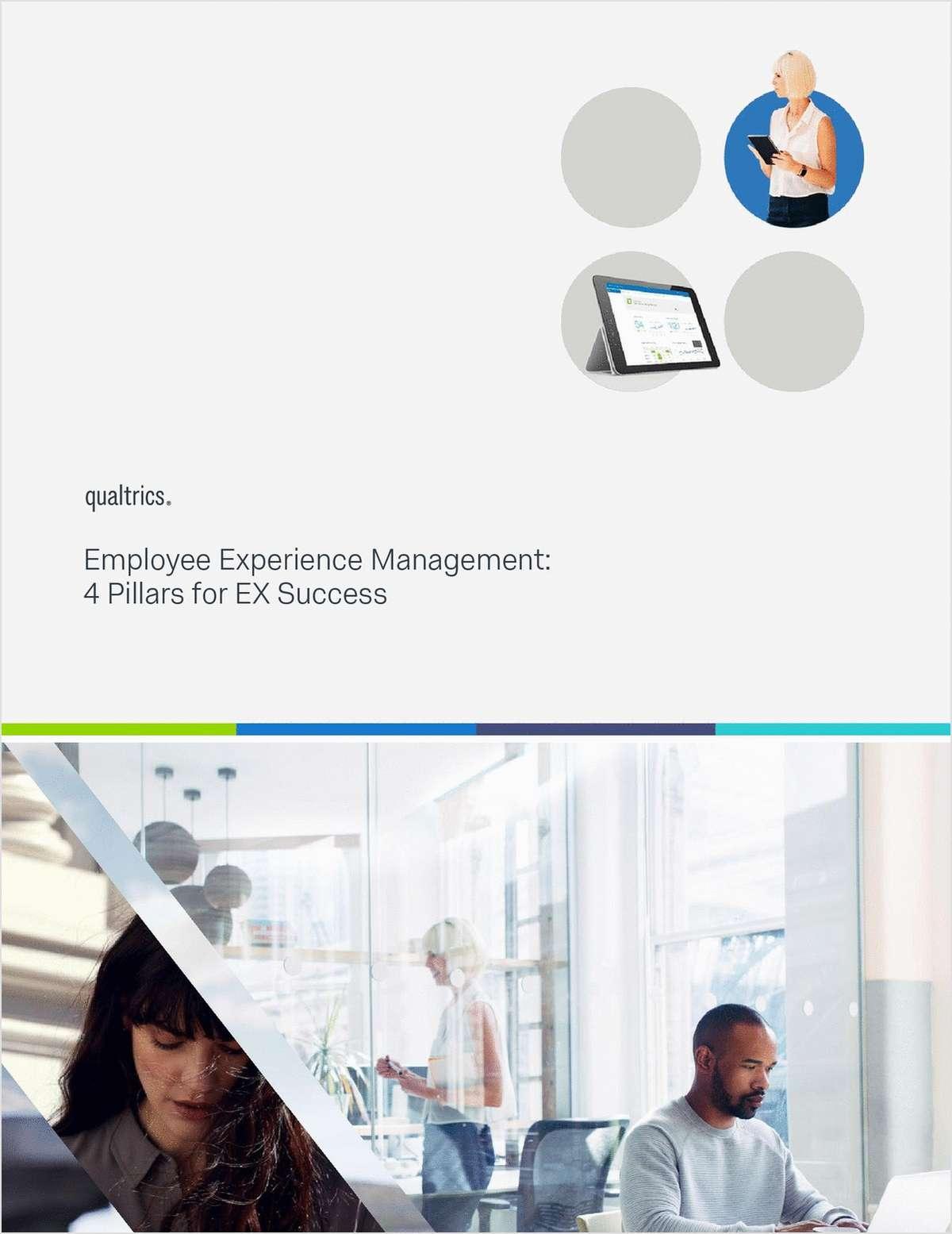 4 Pillars of Employee Experience (EX) Success