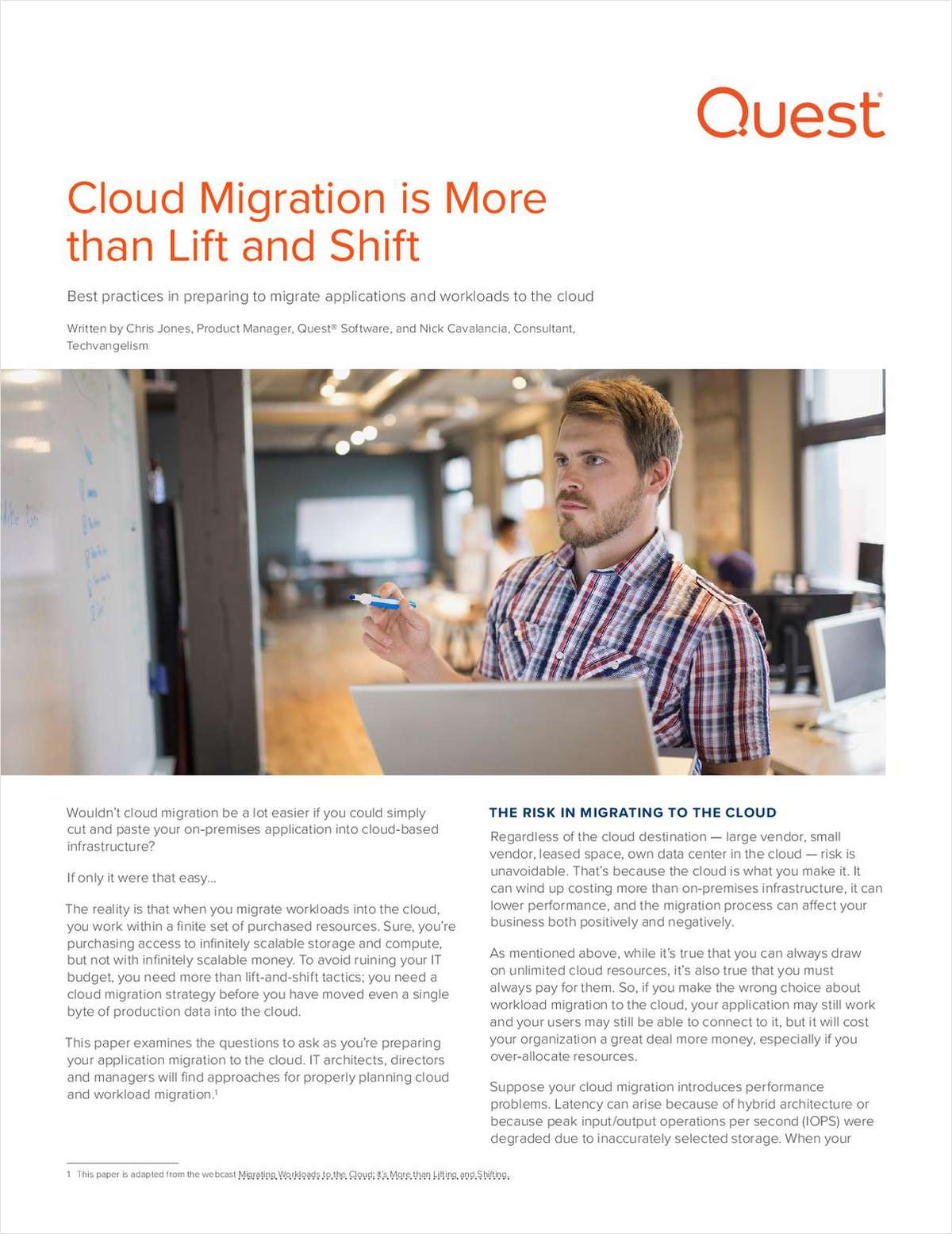 Cloud Migration is More than Lift and Shift