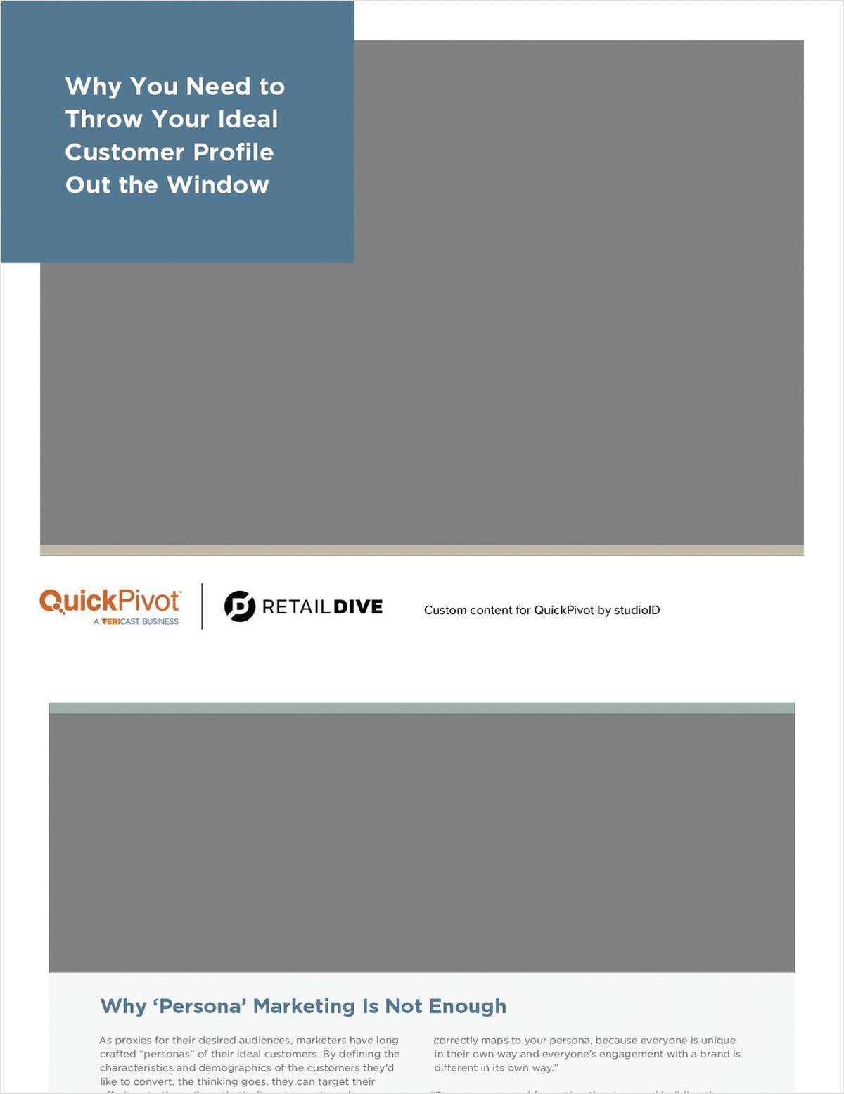 Why You Need to Throw Your Ideal Customer Profile Out the Window